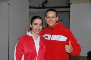 Adelaida Pérez i Núria Marín